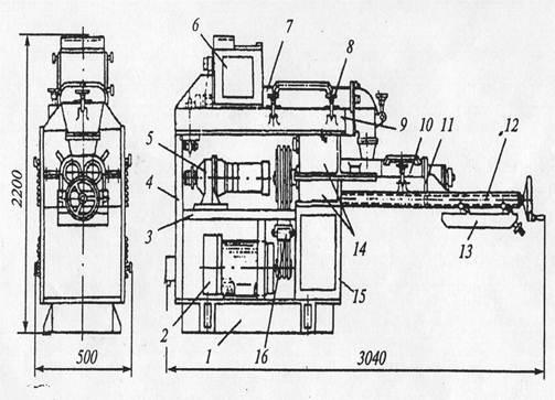 Машина РЗ – ХТО (рисунок 1.2)